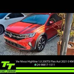 Título do anúncio: VW Nivus Highline 1.0 200 TSI Flex Aut. 2021 0km
