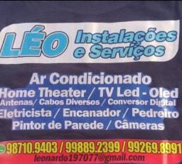 Léo  instalações  e serviços