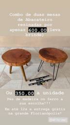 Mega promoção - mesas resinadas + brinde!