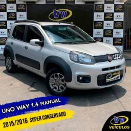 FIAT UNO 2015/2016 1.4 EVO WAY 8V FLEX 4P MANUAL