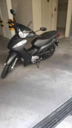 Honda Biz EX 2015 Preta Fosco