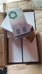 Fonte chaveada alta eficiência 600w /50A /12v