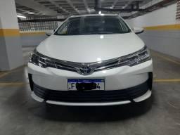 Corolla gli upper automático 2018 branco pérola