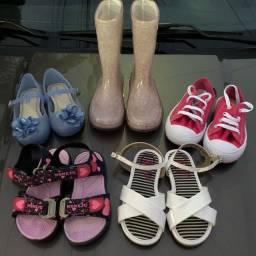 Sapato infantil menina (lote)