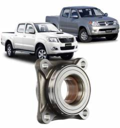 Cubo Roda Dianteiro E Rolamento Toyota Hilux De 2005 À 2015