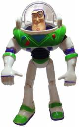 Boneco Articulavel Buzz Lightyear 25cm Toy Story C/som E Luz