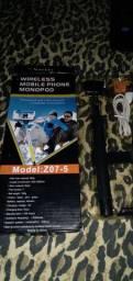Wireless mobile phone monopod (Pau de self )