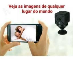Mini Câmera Espiã Wifi Hd 1080p Sem Fio De Segurança