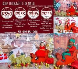 Promoções de Natal book natal infantil estúdio no centro de Porto Alegre
