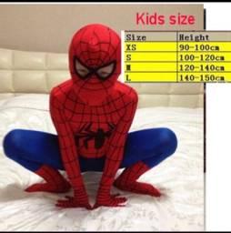 Fantasia do spider man infantil