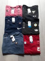 Camiseta - Diversas estampas e modelos - Promoção de inverno - Seja um revendedor