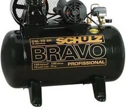 Schulz Compressor BRAVO CSL 10 BR MONO 100 litros Usado - Foto não é do compressor a venda