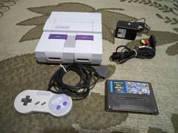 Super Nintendo com 800 jogos