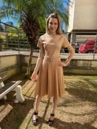 Moda evangélica saia, vestido, blusinhas