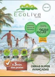 Loteamento Ecolive Em Aquiraz com excelente localização paras as praias!