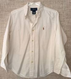 Camisa social menino da Ralph Lauren