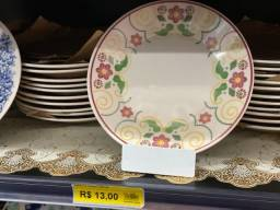 Título do anúncio: Chegou prato lindos de 26cm somente 13 reais a unidade