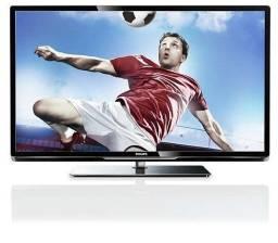 Título do anúncio: Tv Led Smart Full Hd Philips 42 Polegadas com Tela Quebrada
