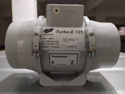 Exaustor Axial Multivac Turbo E-125, Classe T, 220-280 m³/h, Novo