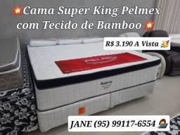 Título do anúncio: CAMA SUPER KING MONTERREY FAZEMOS ENTREGA