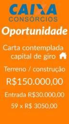 Título do anúncio: opo rtunidade *** ca rta co templad@ imóvel 150 mil
