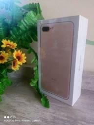 iPhone 7 plus Gold 128gb Lacrado