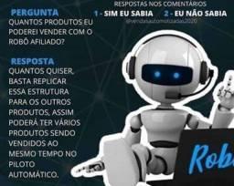 Robô afiliado ganhe dinheiro no conforto de sua cas