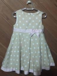 Vestido infantil semi novo
