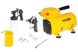 Compressor Ar Direto 1/2cv Vonder + Kit Pintura, Novo, garantia N. Fiscal F. 98876.3162
