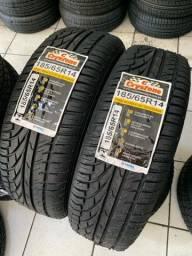 Título do anúncio: 02 pneus aro 14 Crystone (Vipal e inmetro)