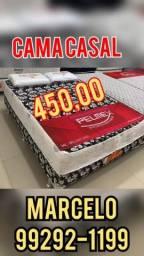 Título do anúncio: cama casal promoção mais 2 travesseiros de brinde