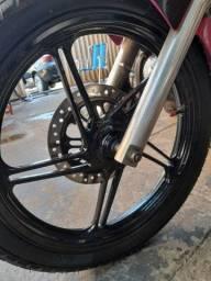 Troco roda da fan160 em raio inox