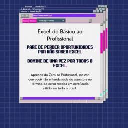 Título do anúncio: Curso de Excel