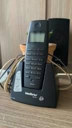 Título do anúncio: Telefone sem fio com visor intelbras