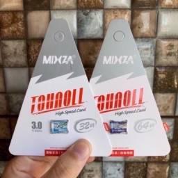 Cartão Mixza 32 / 64 / 128 e 256 Gigas classe 10 Tohaoll Original