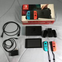 Nintendo Switch completo + Zelda Breath of the Wild