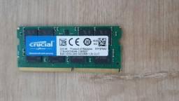 Memória RAM Notebook DDR4 8 GB