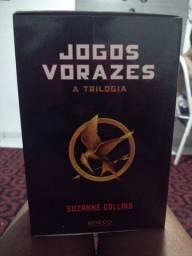VENDO BOX DA TRILOGIA DE JOGOS VORAZES
