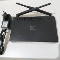 Roteador D-link N300 Dir-615 Preto 100v/240v