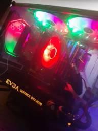 """PC Gamer , S I N i S T R O - i7 - gtx 1070 8gb - 24Gb RAM- monitor 40"""" Completo."""