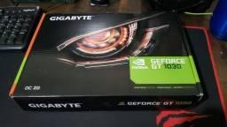 Título do anúncio: Placa de video Gigabyte GT 1030 OC 2gb Gddr5
