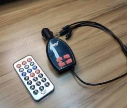 Transmissor FM Veicular Usb Carregador Tela Lcd [Promoção] Entrega