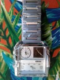 Relógio Original Skmei Quadrado Three Time