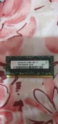 Memória DDR2 de 2GB para notebook