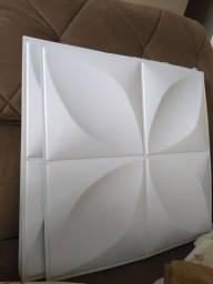 Título do anúncio: Vendo 9m2 de placa 3d de PVC Autocolante