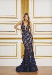 Vestido fabulous agilita longo azul