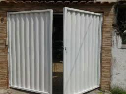Título do anúncio: Portao de garagem abrindo para fora