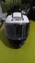 Vendo ou troco capacete Ls2 Metrô Rápid articulado tamanho 58