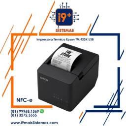 Impressora Térmica de Cupom Não Fiscal Epson TM-T20X USB