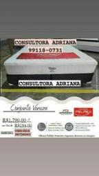Título do anúncio: CAMA CONJUNTO VENEZA-PELMEX- ENTREGA GRÁTIS